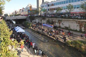 Cheonggyecheon Dongdaemun concert